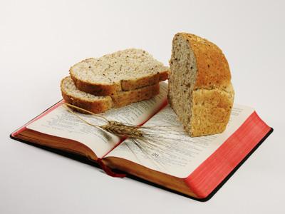Christelijke e-card Mattheüs 4:4