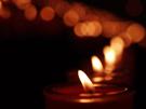 Christliche eCard Licht, kaarsen